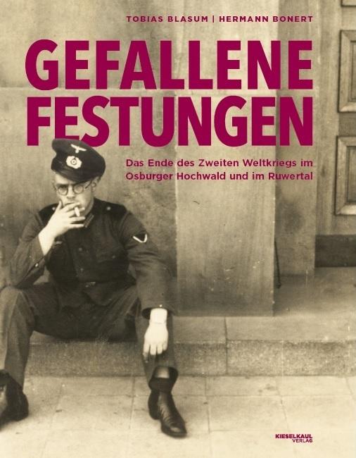 Cover des Buchs Gefallene Festungen von Tobias Blasum und Hermann Bonert